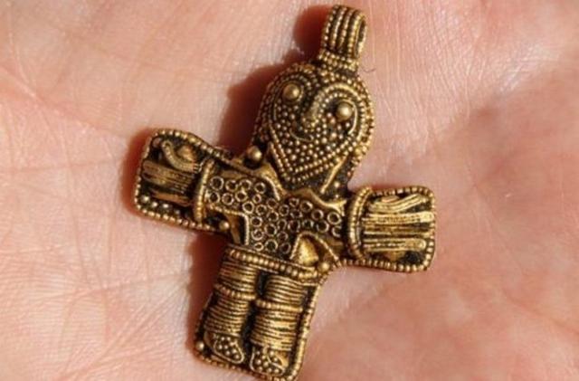 Самое древнее распятия из найденных в Дании.