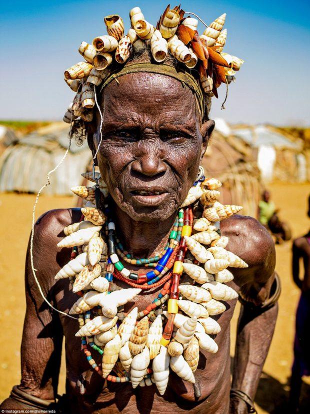 женщины эфиопских племён_9