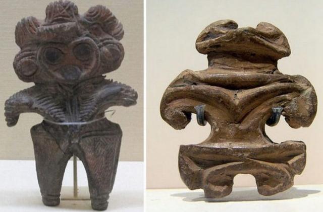 Самой старой сохранившейся фигурке 10 000 лет, в самой «молодой» лишь 2 300 лет.