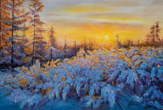 художник Савелий Камский картины - 11