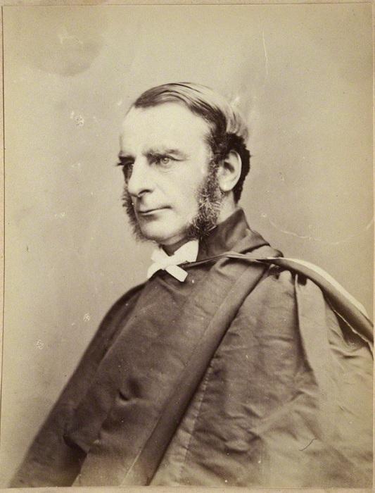Чарльз Кингсли - английский писатель и проповедник.   Фото: images.npg.org.uk.