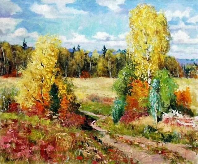 художник Валерий Изумрудов картины - 05