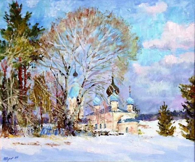 художник Валерий Изумрудов картины - 16