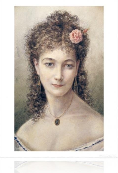 Сара Бернар. Marie Desire Bourgoin, 1869 год. | Фото: eldisblog.com.