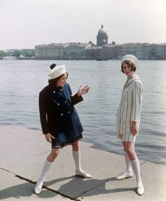 Как выглядела женская мода во времена СССР. Фото