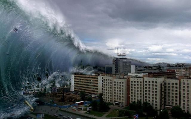 Разрушительная сила воды: самые страшные цунами в истории вода, интересное, познавательное