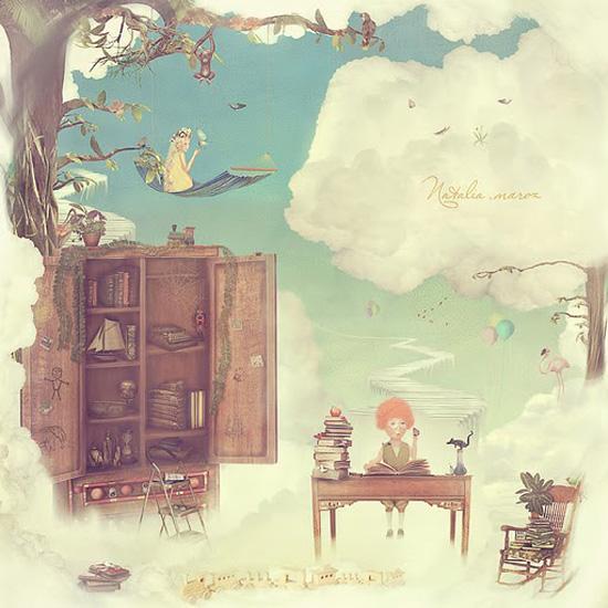 """Результат пошуку зображень за запитом """"Ближе к небу сказочные иллюстрации художника Натальи Мороз."""""""