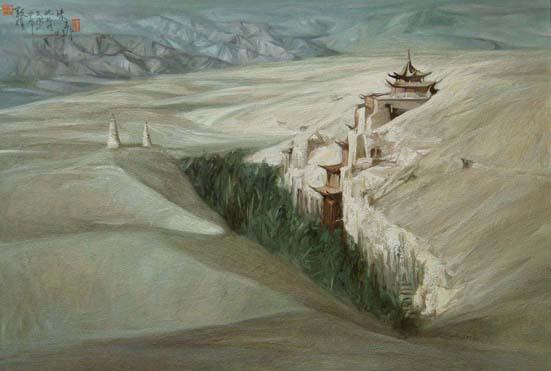 Dunghuang, китайский жемчуг культуры (551x371, 46Kb)