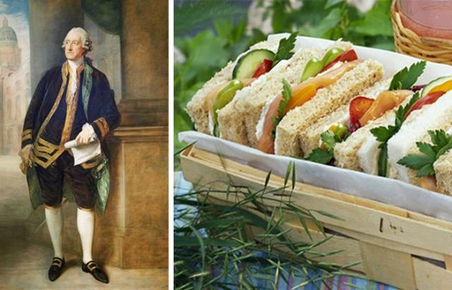 Сэр Сэндвич: как был придуман популярный бутерброд.