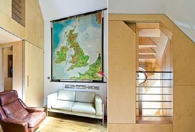 Необычный интерьер самых маленьких домиков в Британии. Фото