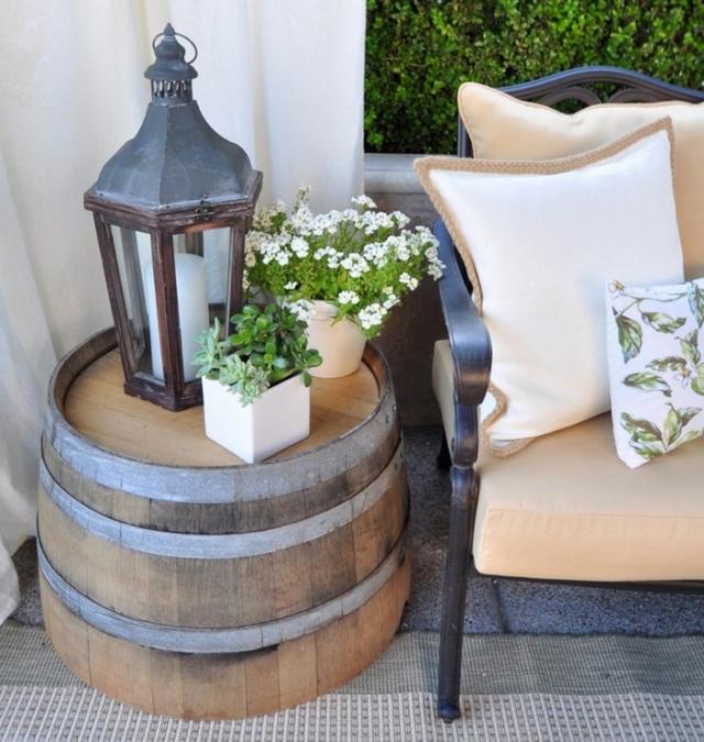 Фото: Интересная мебель, которая сделанная из бочки (Фото)