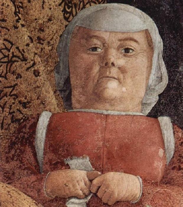 Андреа Мантенья.  «Двор Мантуи». (1471-74гг.) Фрагмент. Автор: Андреа Мантенья.