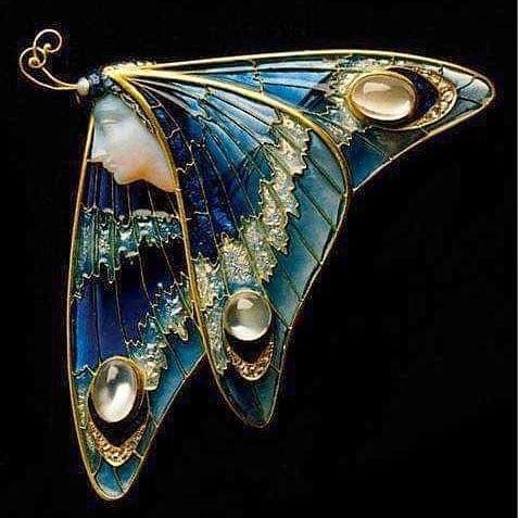 Эльфы в ювелирных украшениях ар-нуво - 8